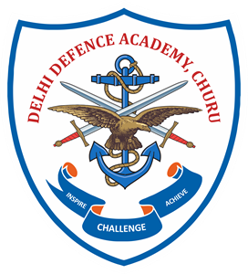 DELHI DEFENCE ACADEMY CHURU Logo Vector