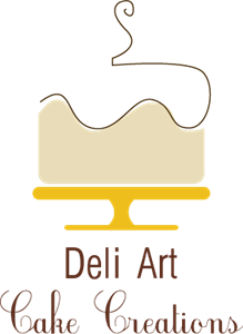 Deli Art Cake Creations Logo Vector