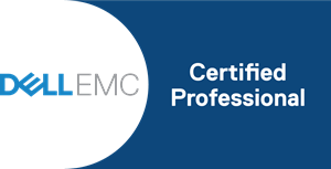 Dell EMC Certified Professional Logo Vector