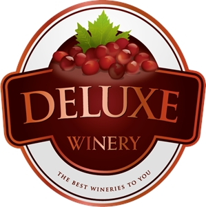 DELUXE WINERY CUSTOM Logo Vector