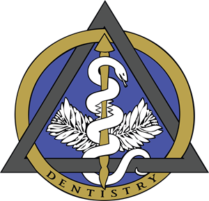 Dental Caduceus Logo Vector