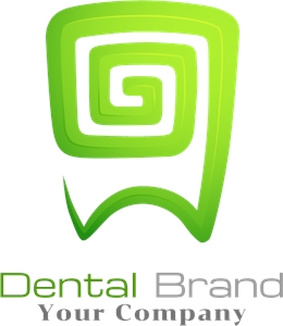Dental drand abstract Logo Vector