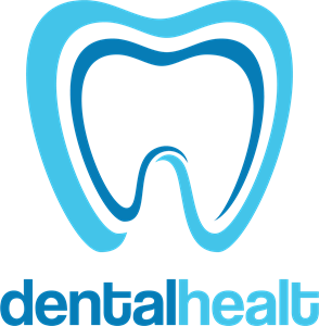 Dental healt circle Logo Vector
