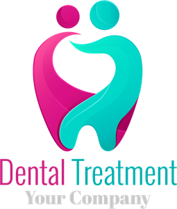 Dental treatment Logo Vector