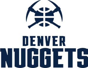 Denver Nuggets Wordmark Logo Vector