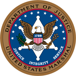 department of justice united state marshal Logo Vector