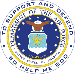 Department of the Air Force USA Logo Vector
