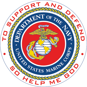 Department of the Navy - U.S. Marine Corps Logo Vector