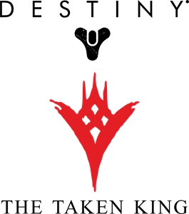 DESTINY THE TAKEN KING Logo Vector