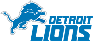 Detroit Lions 2017 w/WordMark Logo Vector