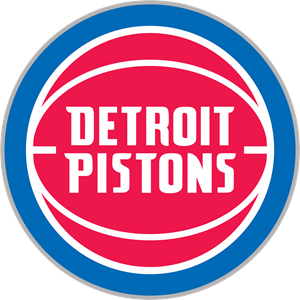 Detroit Pistons new 2017 Logo Vector