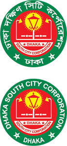 Dhak South City Corporation Logo Vector