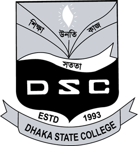 Dhaka state college Logo Vector