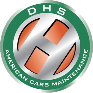 DHS American Cars Maintenance Logo Vector
