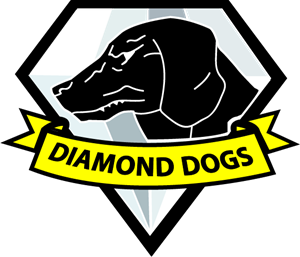 Diamond dog (mgs) Logo Vector