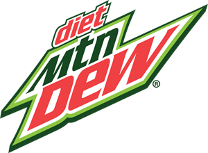 diet Mtn Dew Logo Vector