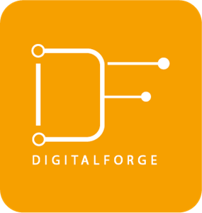 Digital Forge Logo Vector