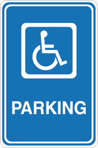 Disabled parking Logo Vector