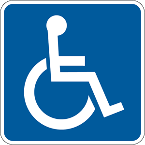 DISABLED SIGN Logo Vector