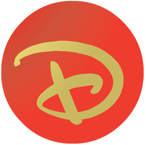 Disney D ball Logo Vector