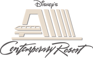 Disneys Contemporary Resort Logo Vector