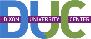Dixon University Center (DUC) Logo Vector