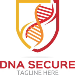 Dna secure Logo Vector