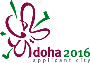 Doha 2016 Applicant City Logo Vector