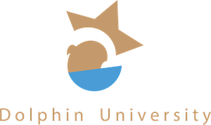 Dolphin University Logo Vector