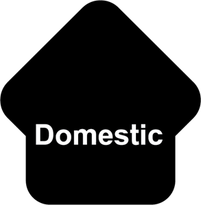 Domestic Logo Vector