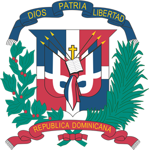 DOMINICAN REPUBLIC COAT OF ARMS Logo Vector