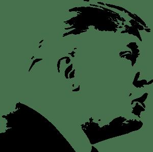 Donald Trump Silhouette Logo Vector Svg Free Download