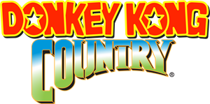 DONKEY KONG COUNTRY Logo Vector