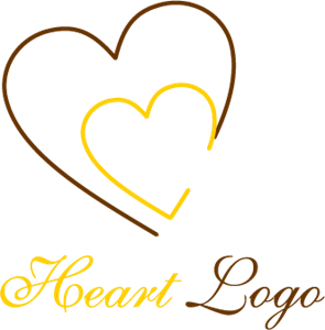 Double Hearten Entertainment Logo Vector