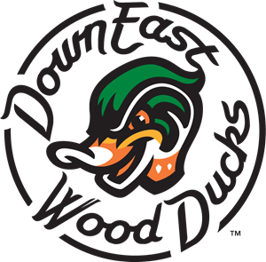 Down East Wood Ducks Logo Vector