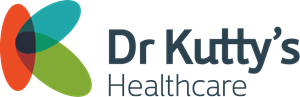 Dr. Kutty's Healthcare Logo Vector