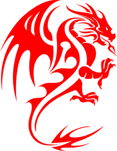 Dragons Logo Vector