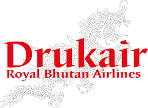 Drukair Royal Bhutan airlines Logo Vector