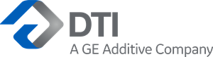 DTI A GE Additive Company Logo Vector