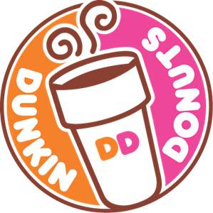dunkin donuts logo vector eps free download
