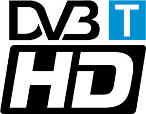 DVB-T HD Logo Vector
