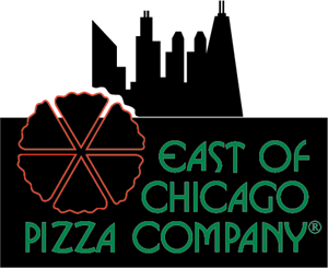 East of Chicago Pizza Company Logo Vector