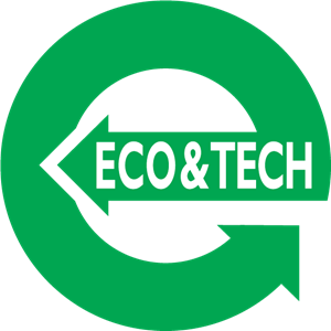 Eco & Tech Logo Vector