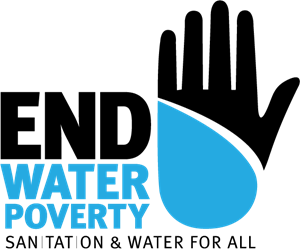 End Water Poverty Logo Vector
