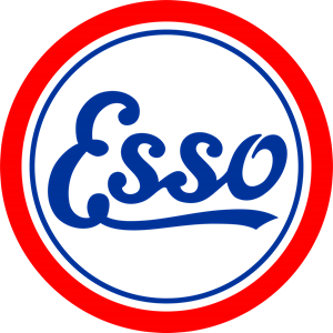Esso Antique Logo Vector