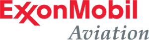 ExxonMobil Aviation Logo Vector