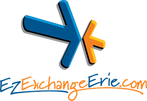 Ez Exchange Erie Logo Vector