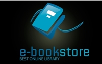 E-Book Store Blue Logo Vector