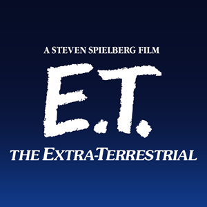 E.T. the Extra-Terrestrial Logo Vector