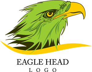 Eagle Head Bird Art Logo Vector